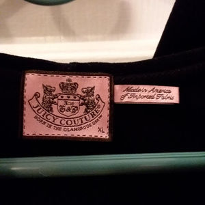 Vintage Juicy Couture Hoodie Size XL Black